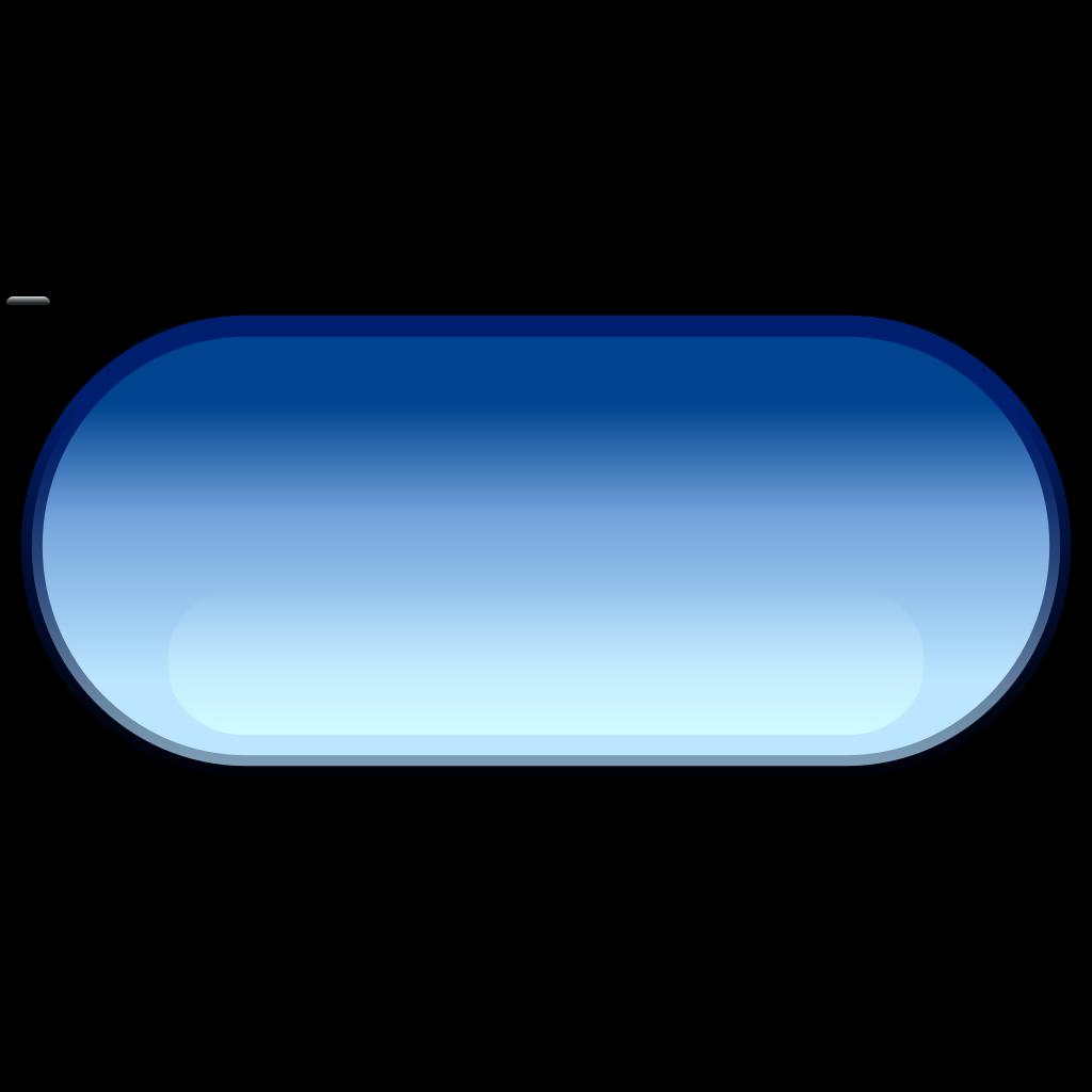 Pill button blue SVG Clip arts