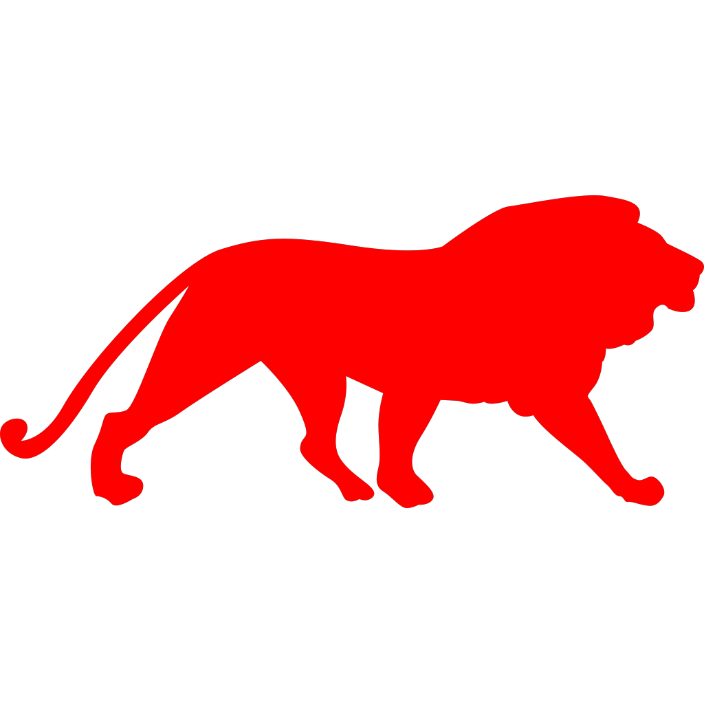 White Lion 1 SVG Clip arts