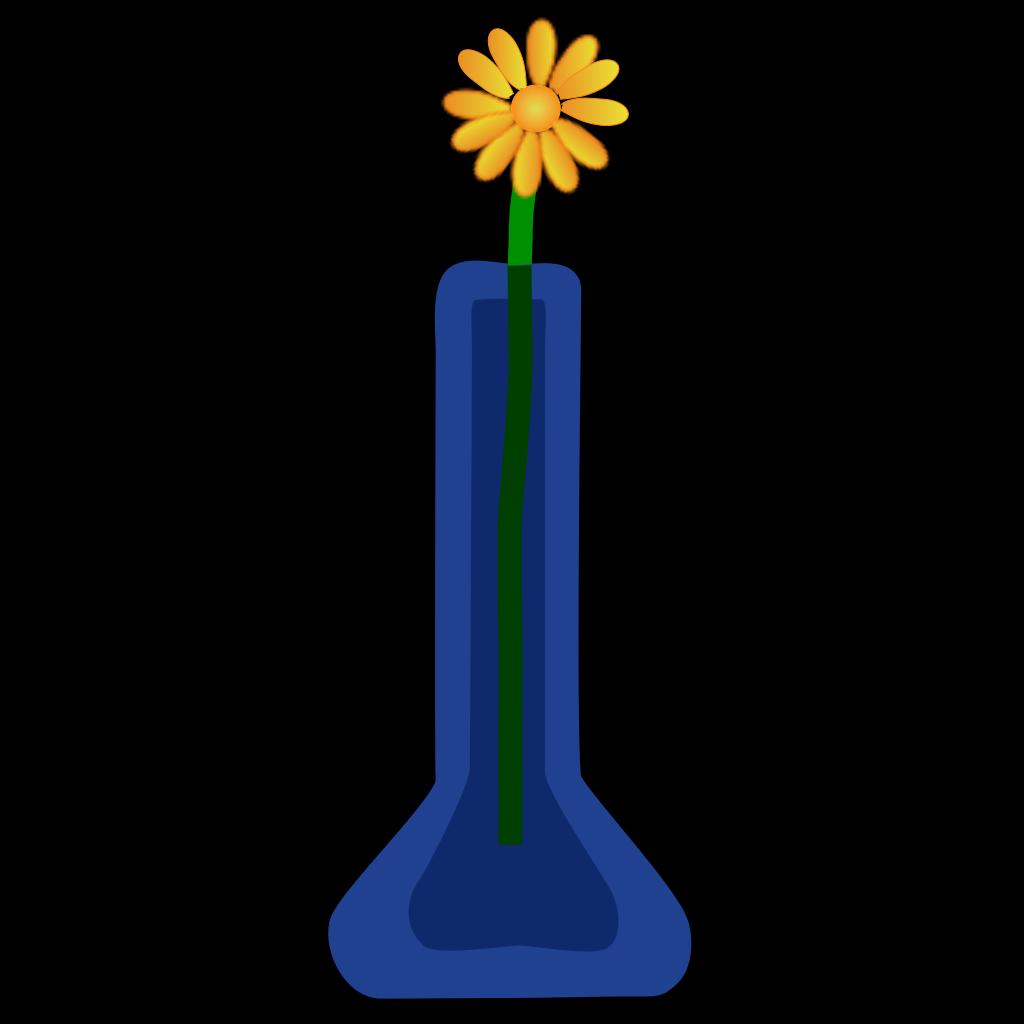 Flower In Vase SVG Clip arts