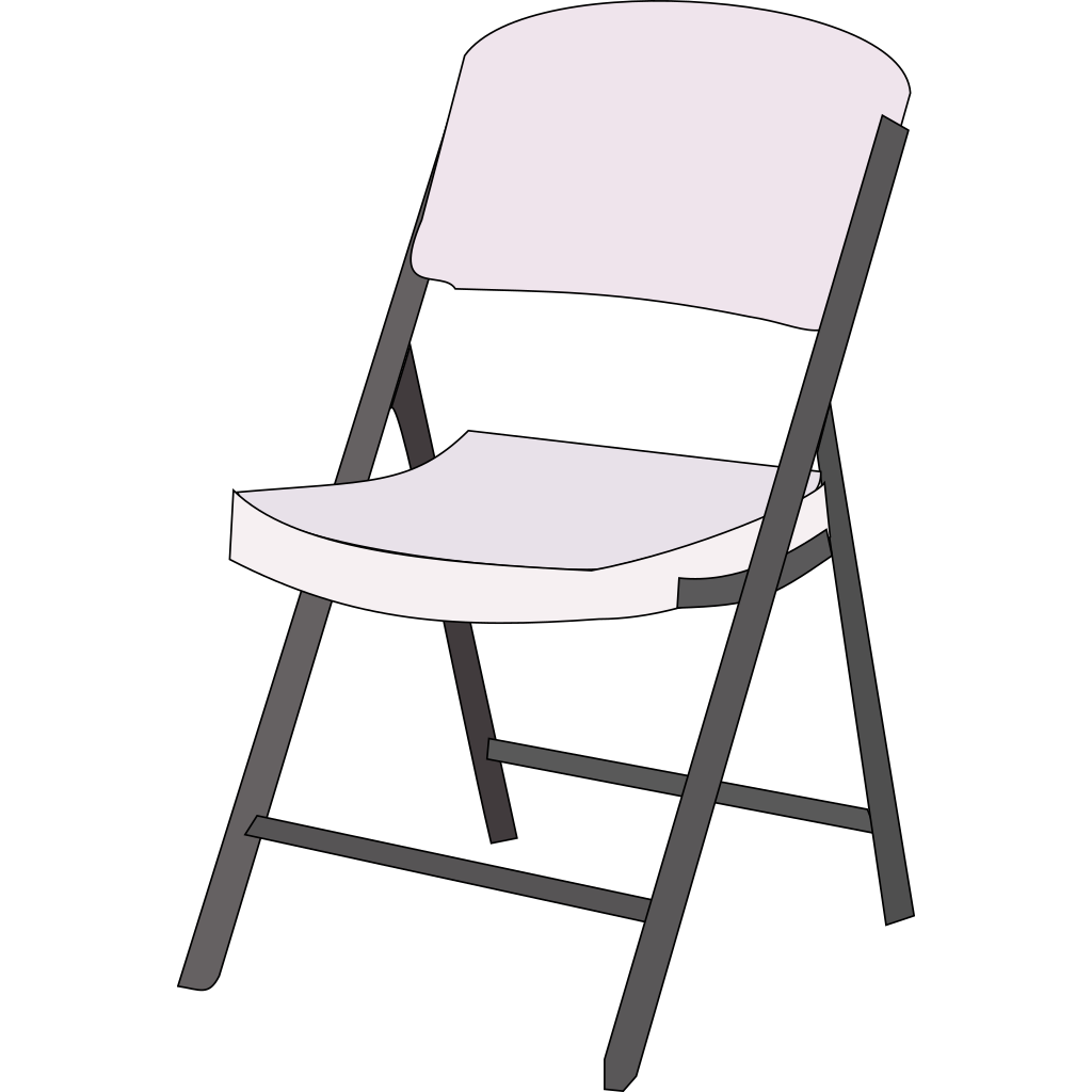 Blue Chair SVG Clip arts