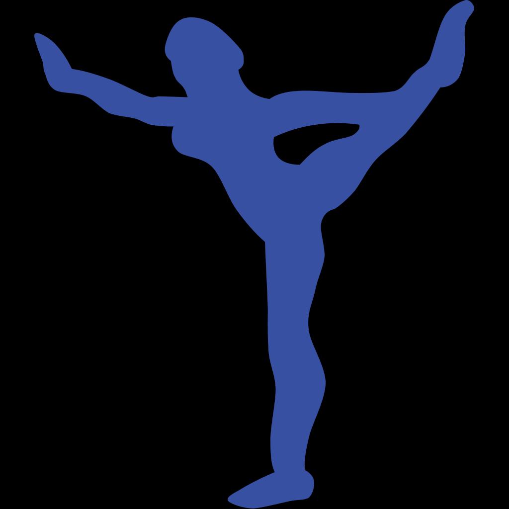 Gymnastic SVG Clip arts
