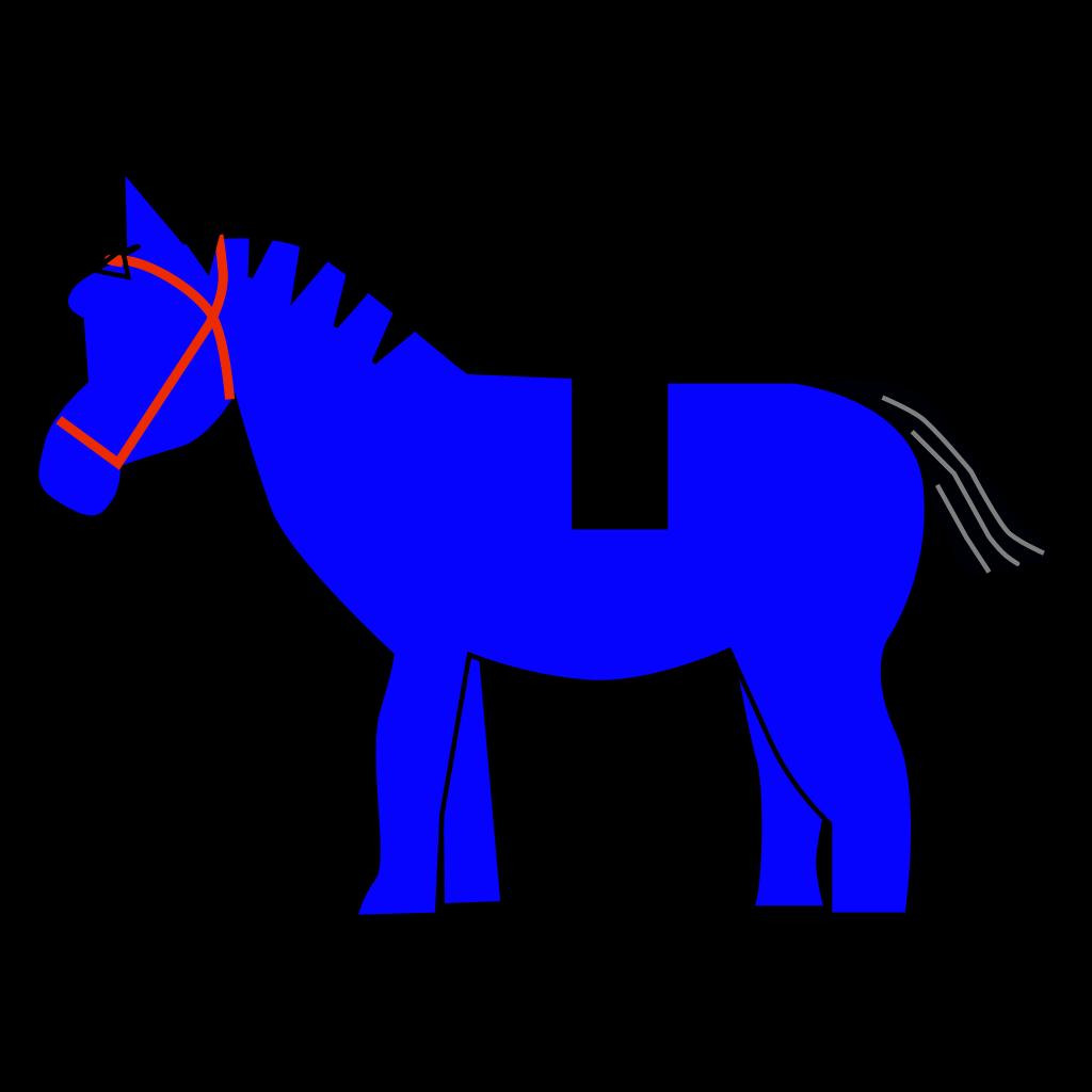 Horse Lego SVG Clip arts