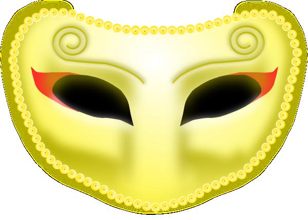 Black Mask SVG Clip arts