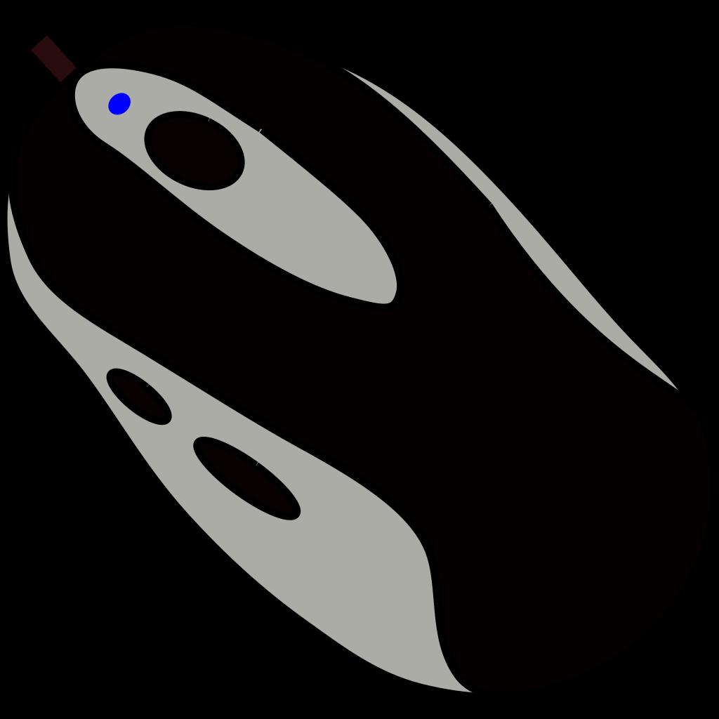 Mouse 2 SVG Clip arts