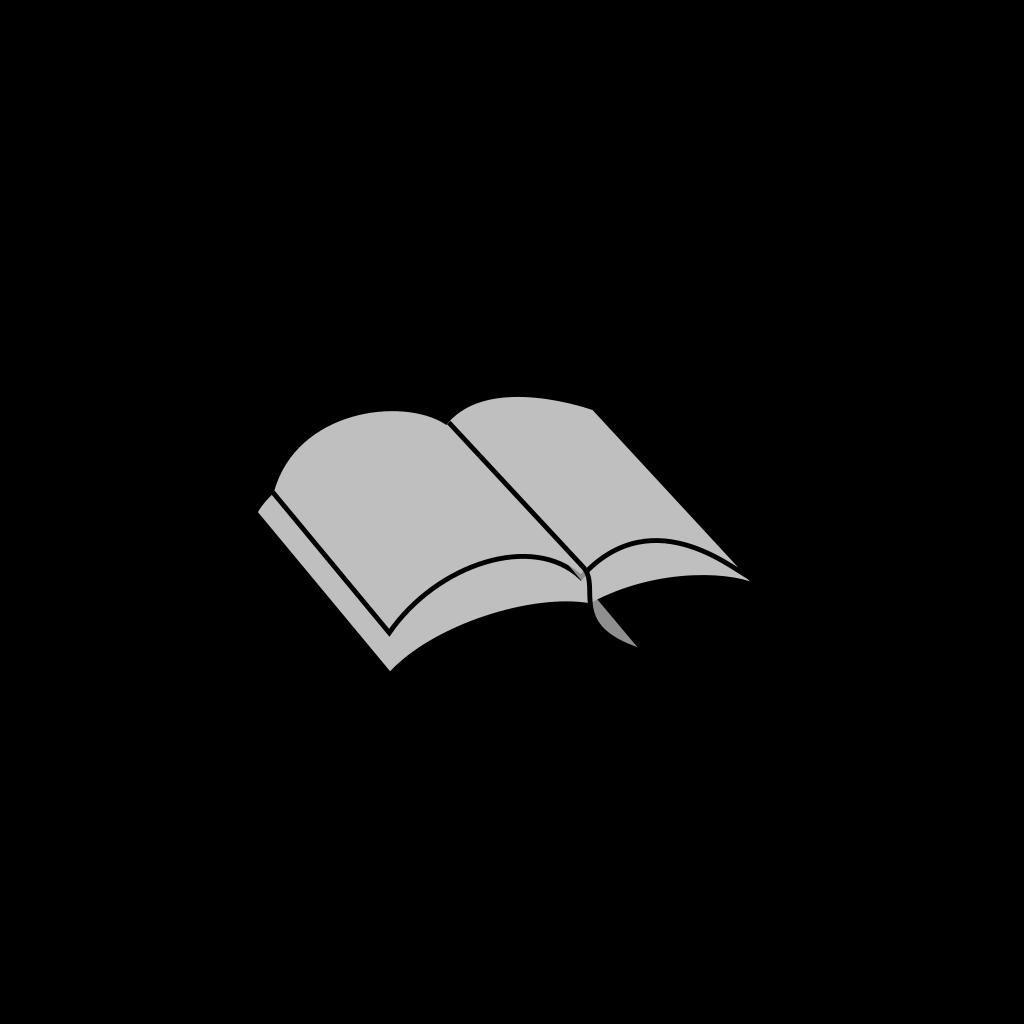 Open Bible 01 SVG Clip arts