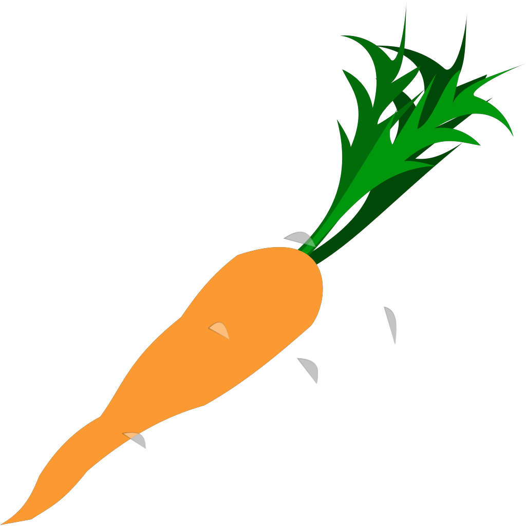 Carrot SVG Clip arts