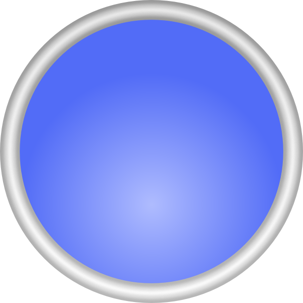 Shiny Blue Circle SVG Clip arts