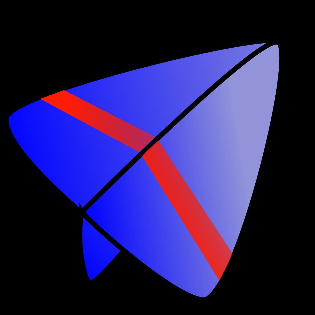 Electronicru Glider Picture SVG Clip arts
