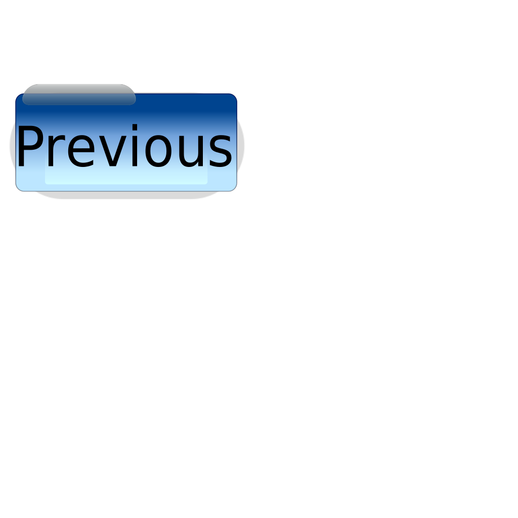 Blue Go Previous SVG Clip arts