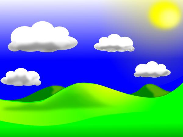 Landscape 1 SVG Clip arts