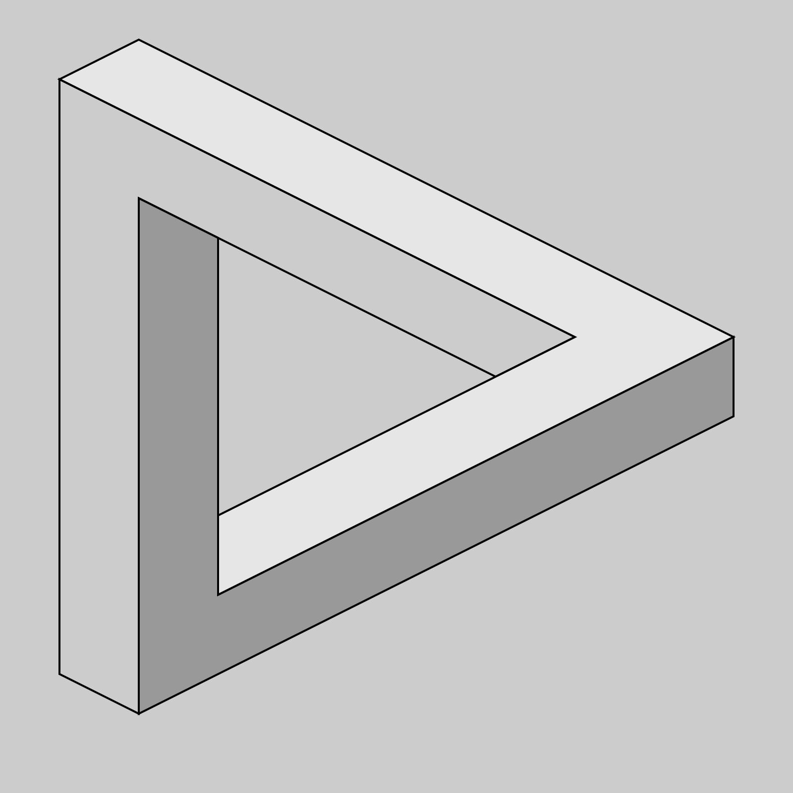 Blue Triangle 2 SVG Clip arts