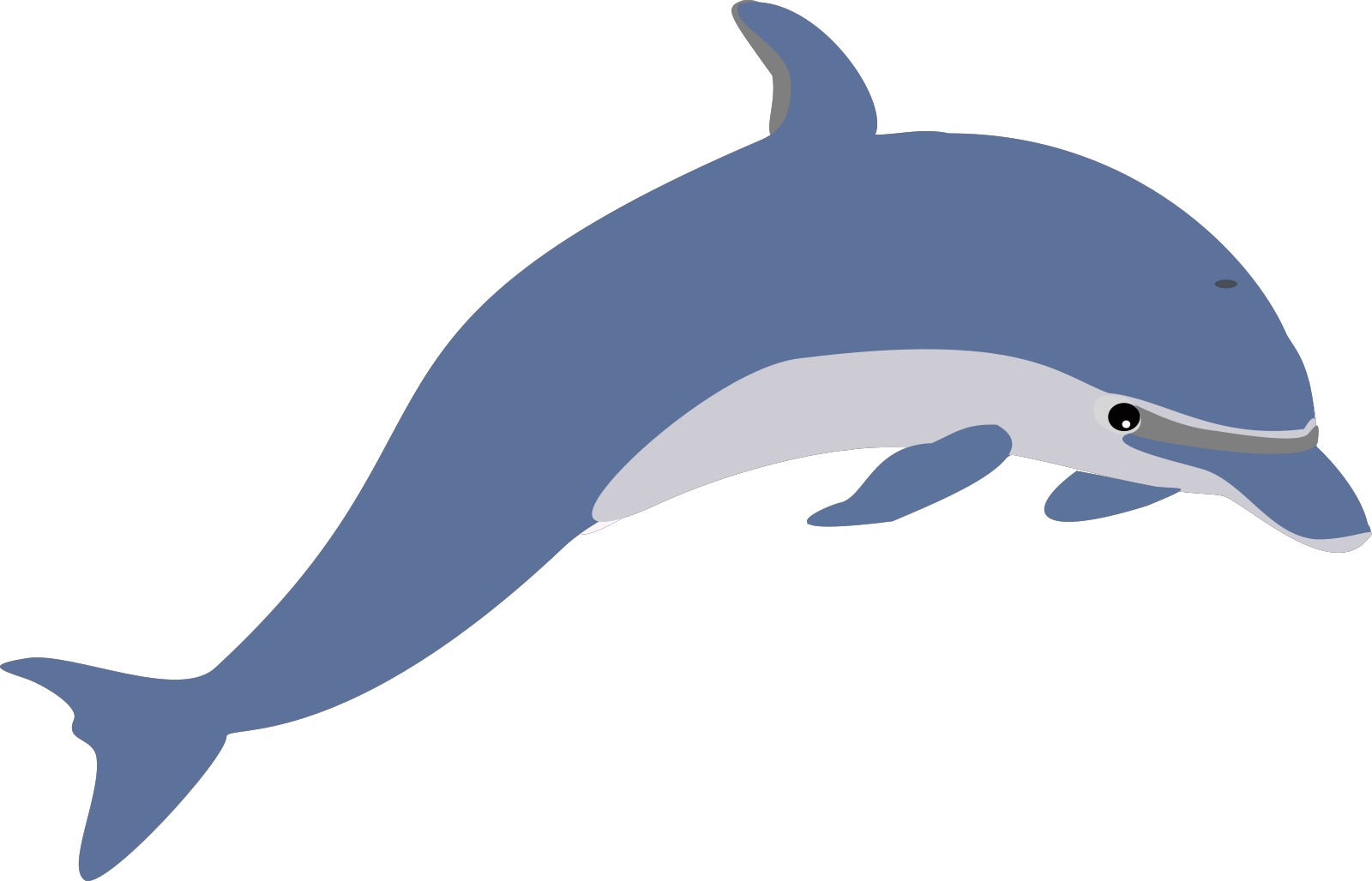 Dauphin Dolphin SVG Clip arts
