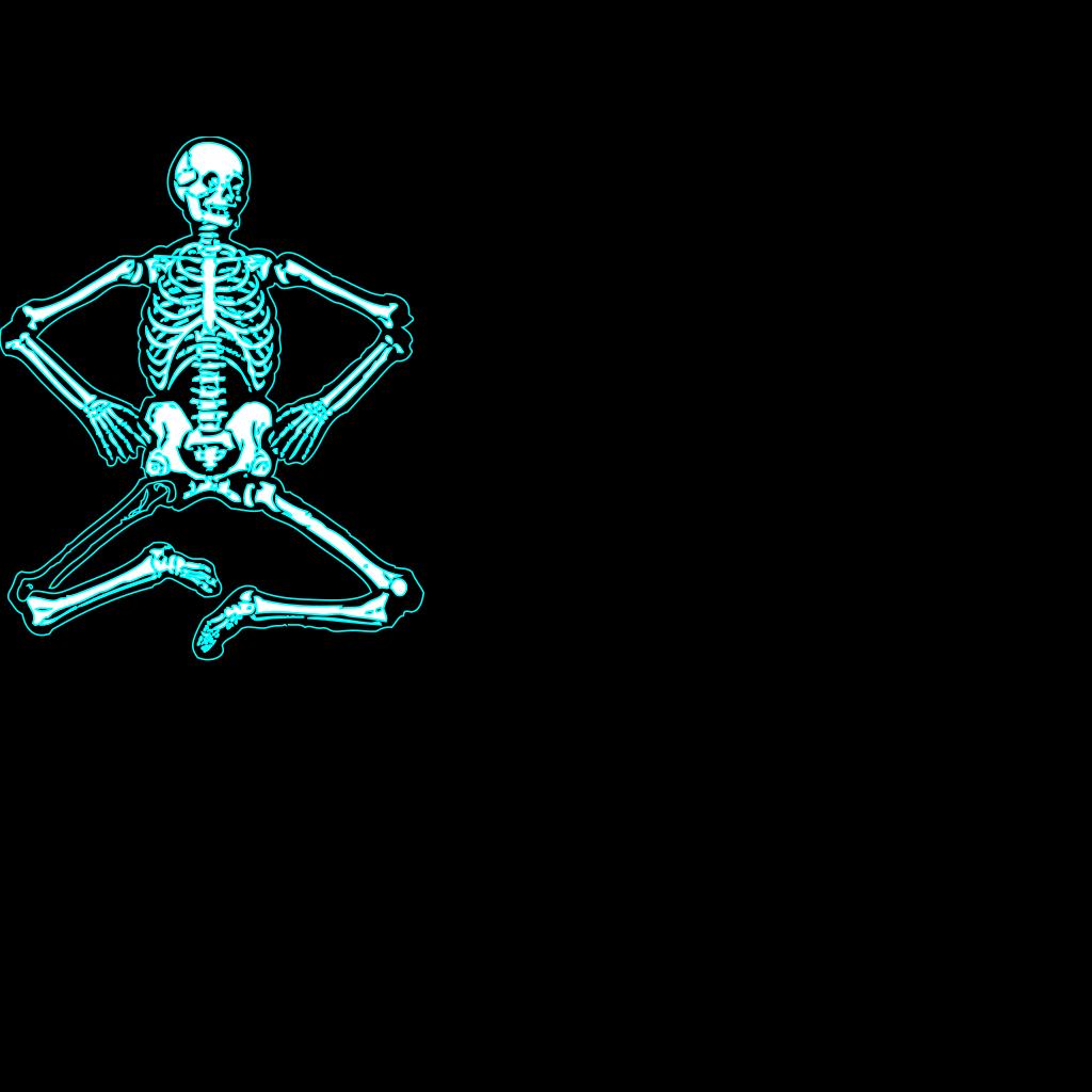 Skeletondance SVG Clip arts