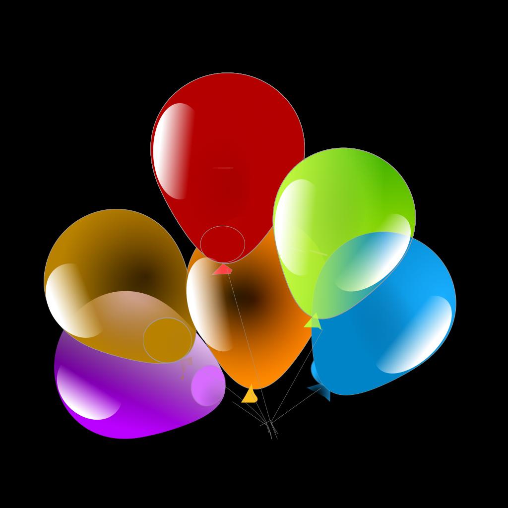 Balloons SVG Clip arts