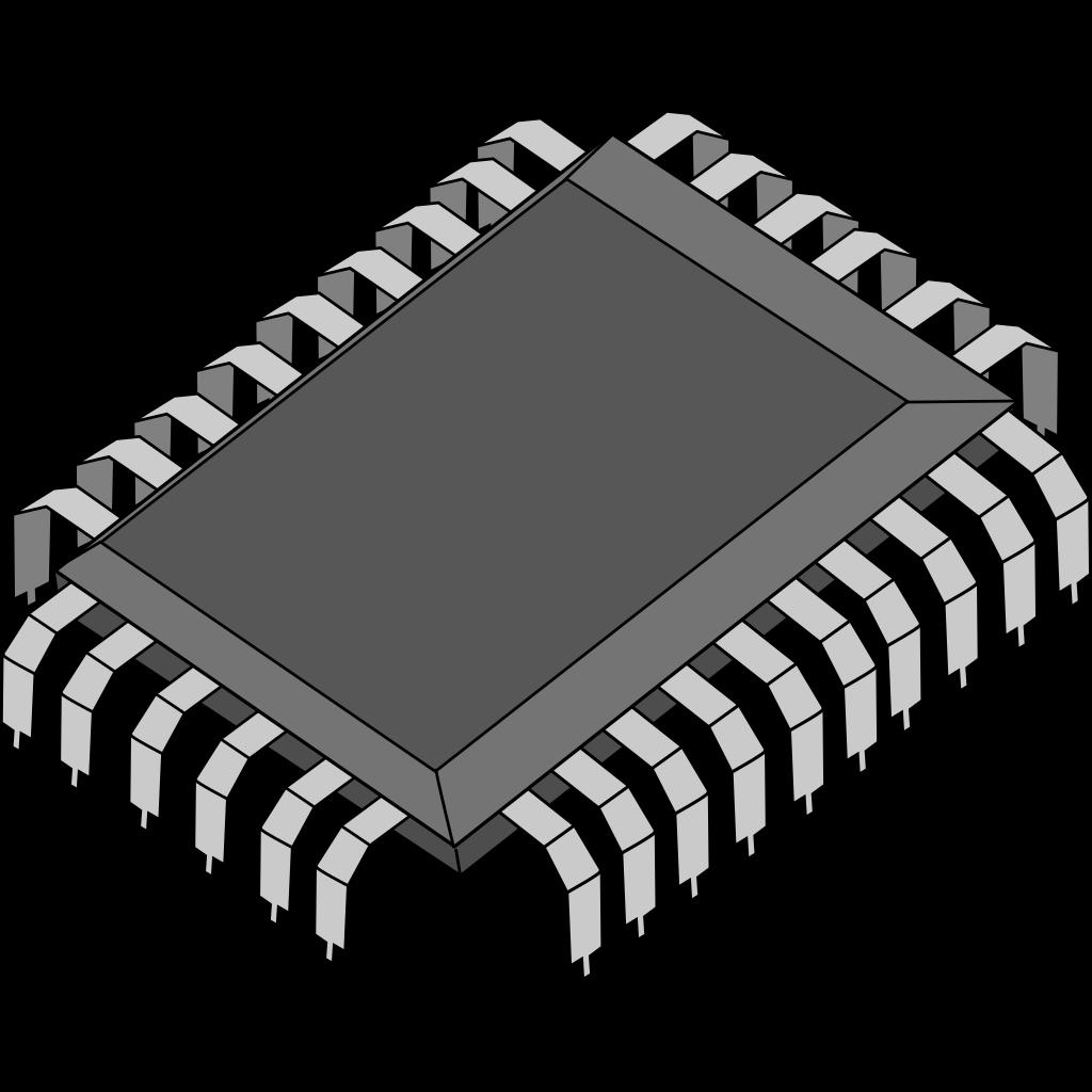Dsp Processor Chip SVG Clip arts