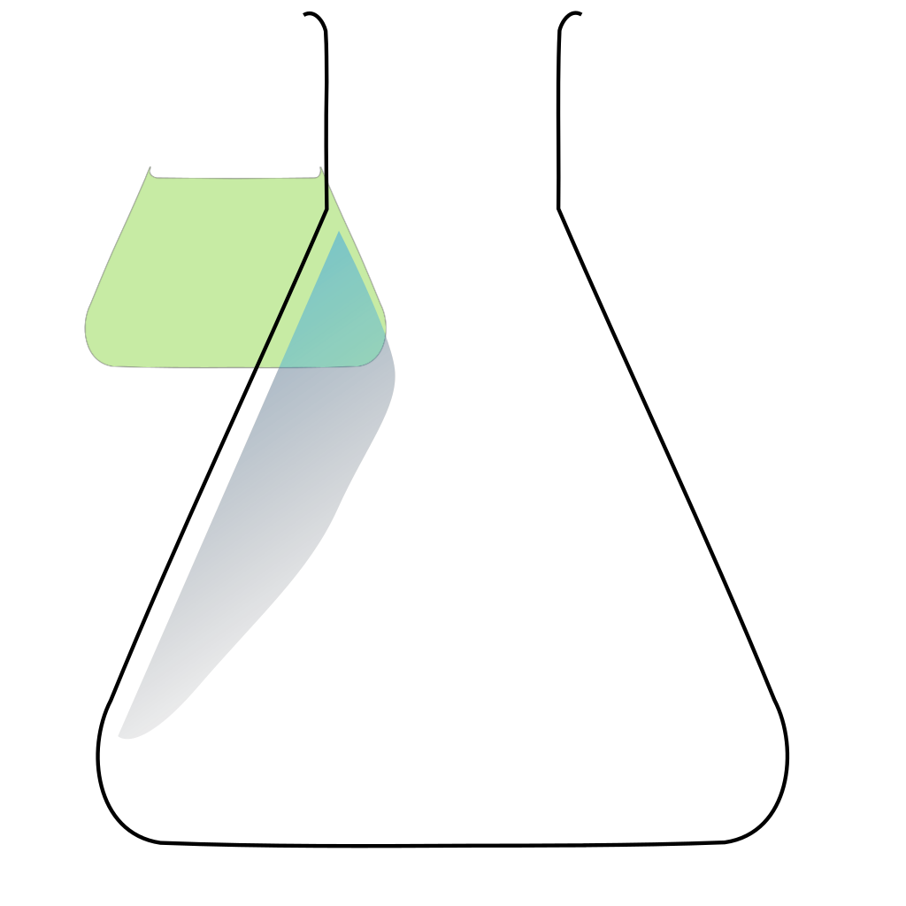 Chem Flask 2 SVG Clip arts