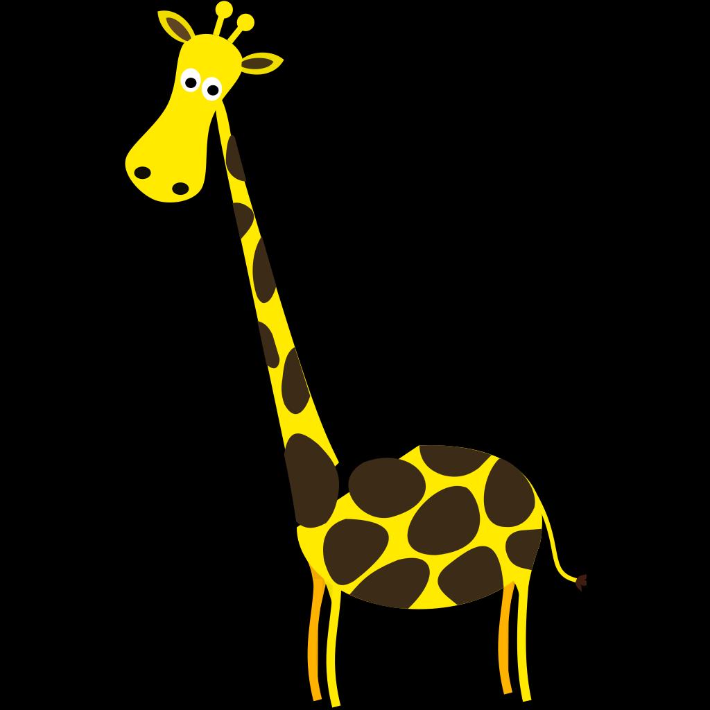 Baby Giraffe  SVG Clip arts