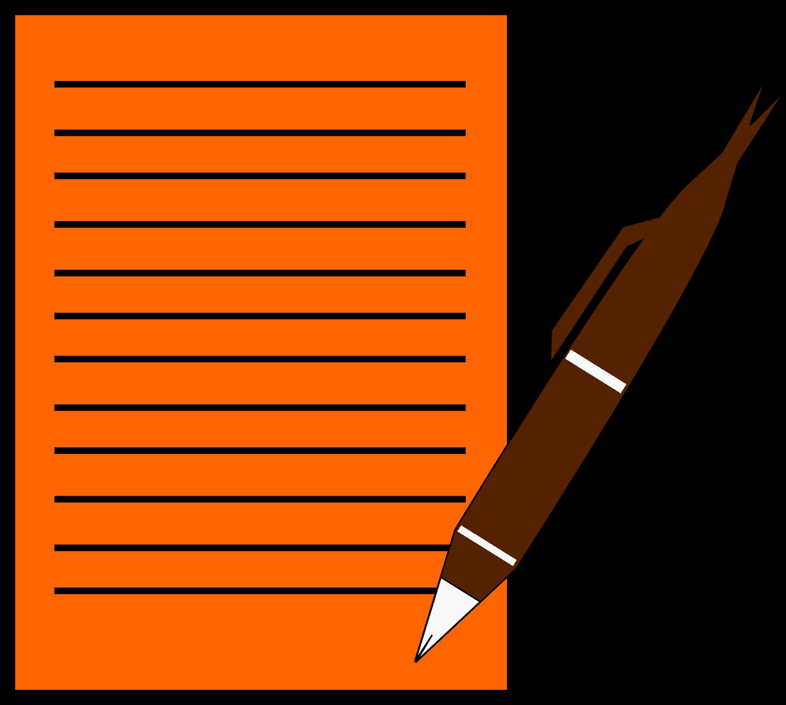 Wryterz Pen SVG Clip arts