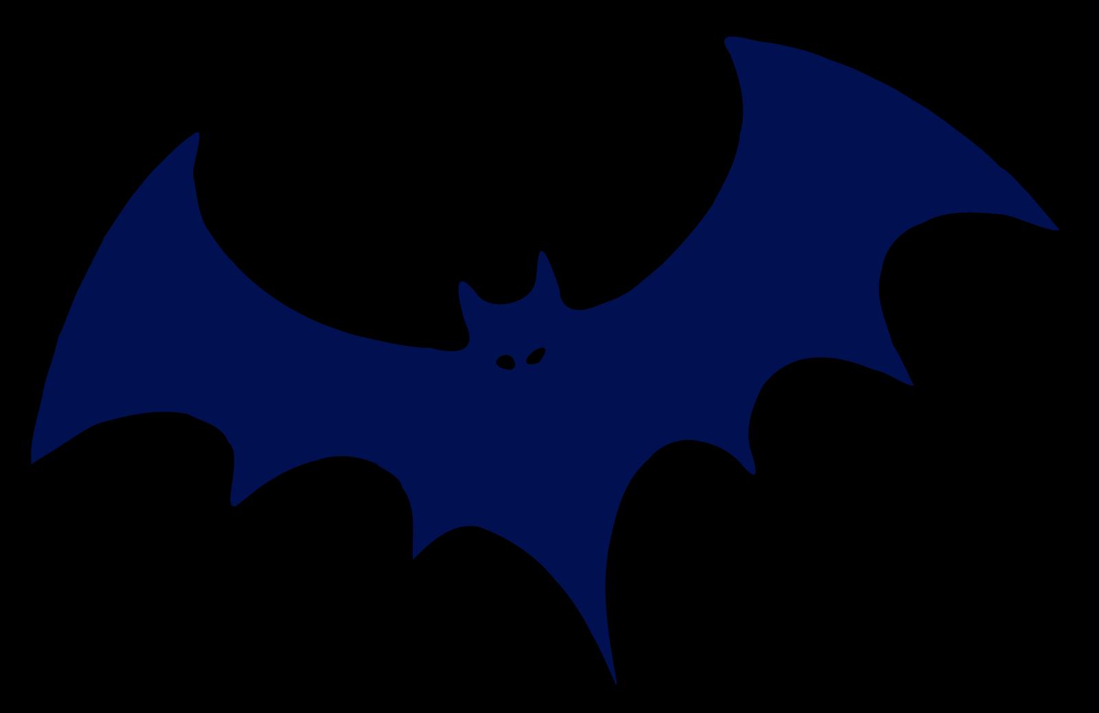 Blue Bat SVG Clip arts
