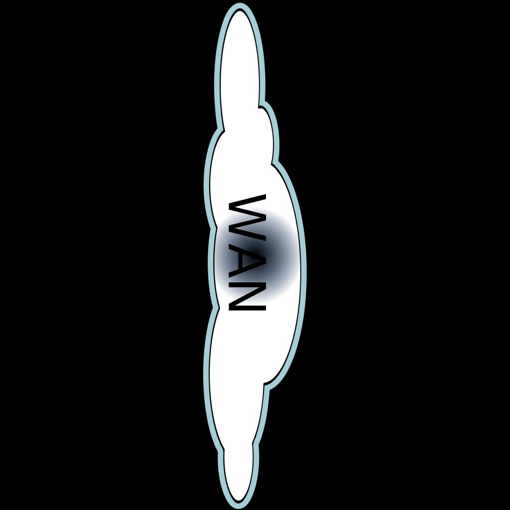 Wan Vertical Cloud SVG Clip arts