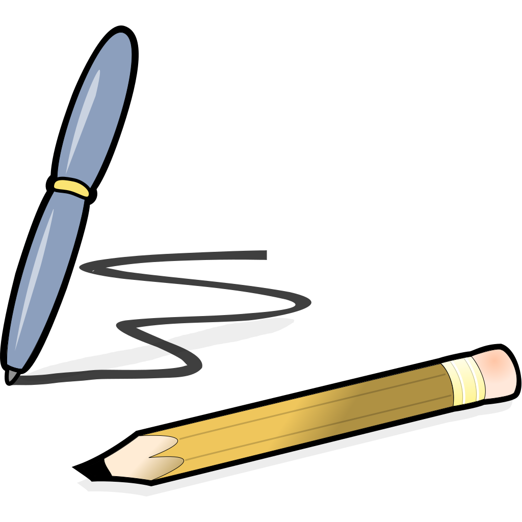 Pen And Pencil SVG Clip arts