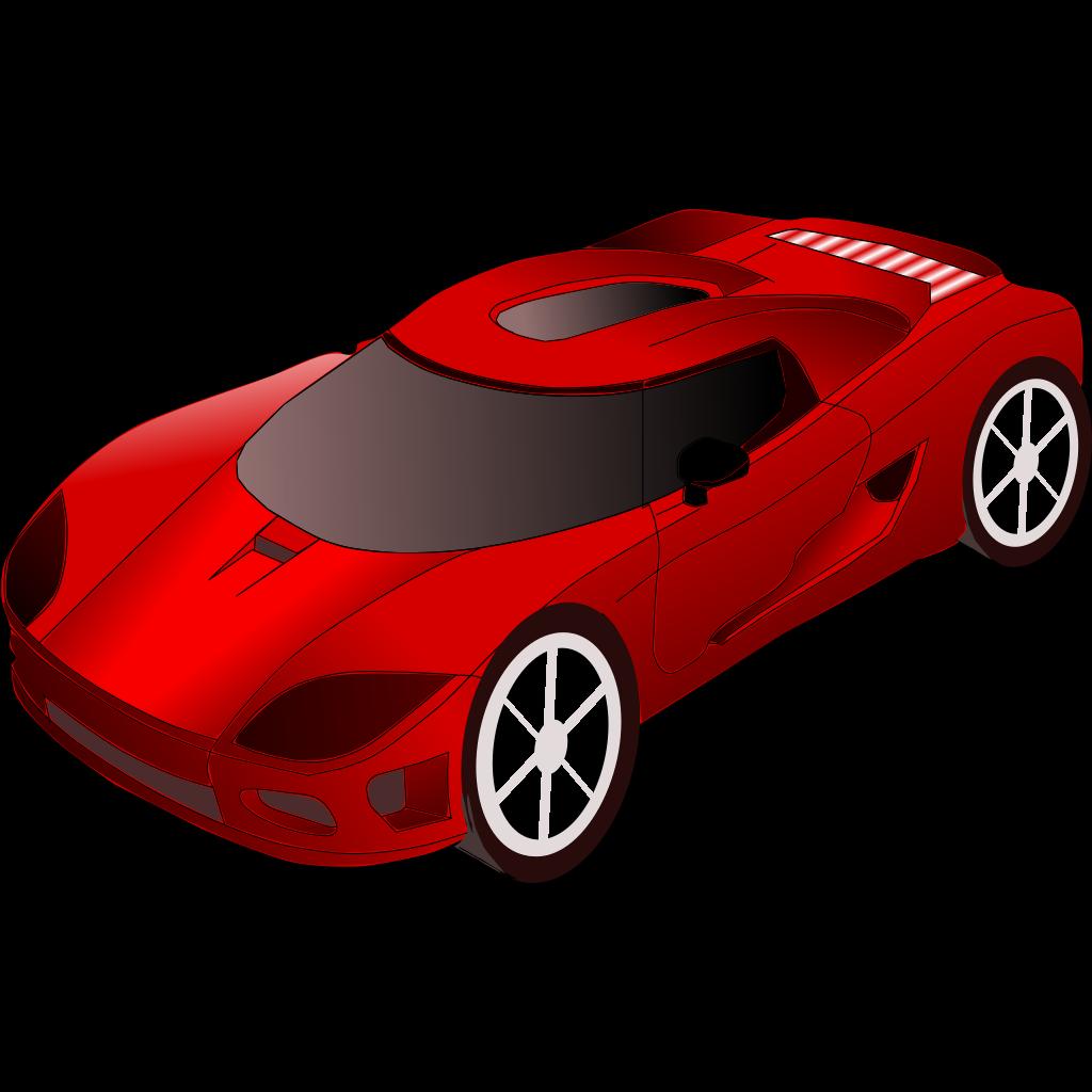 Sports Car SVG Clip arts