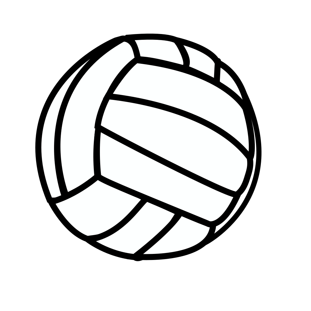 Volleyball SVG Clip arts