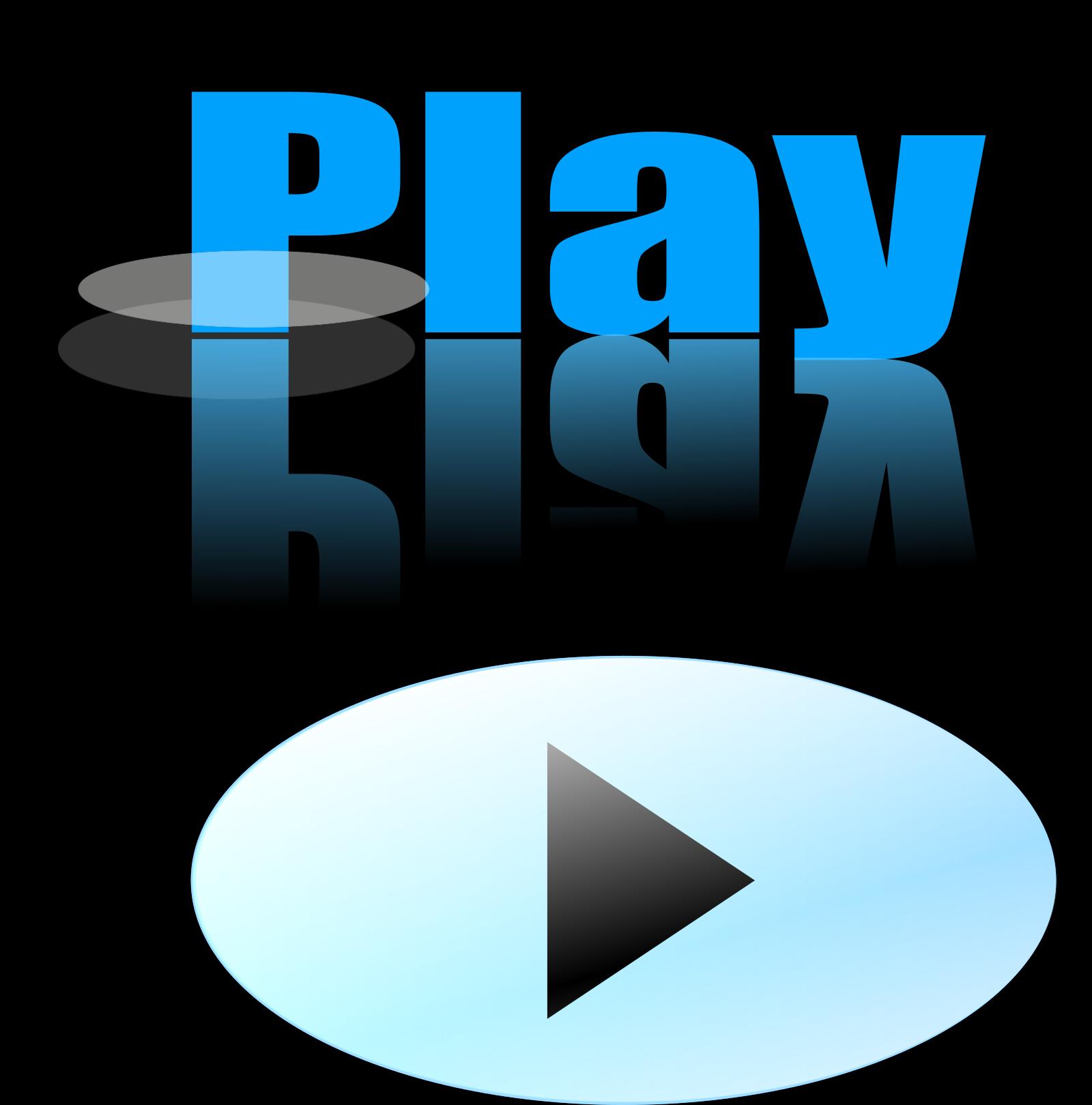 Glossy Blue Button SVG Clip arts