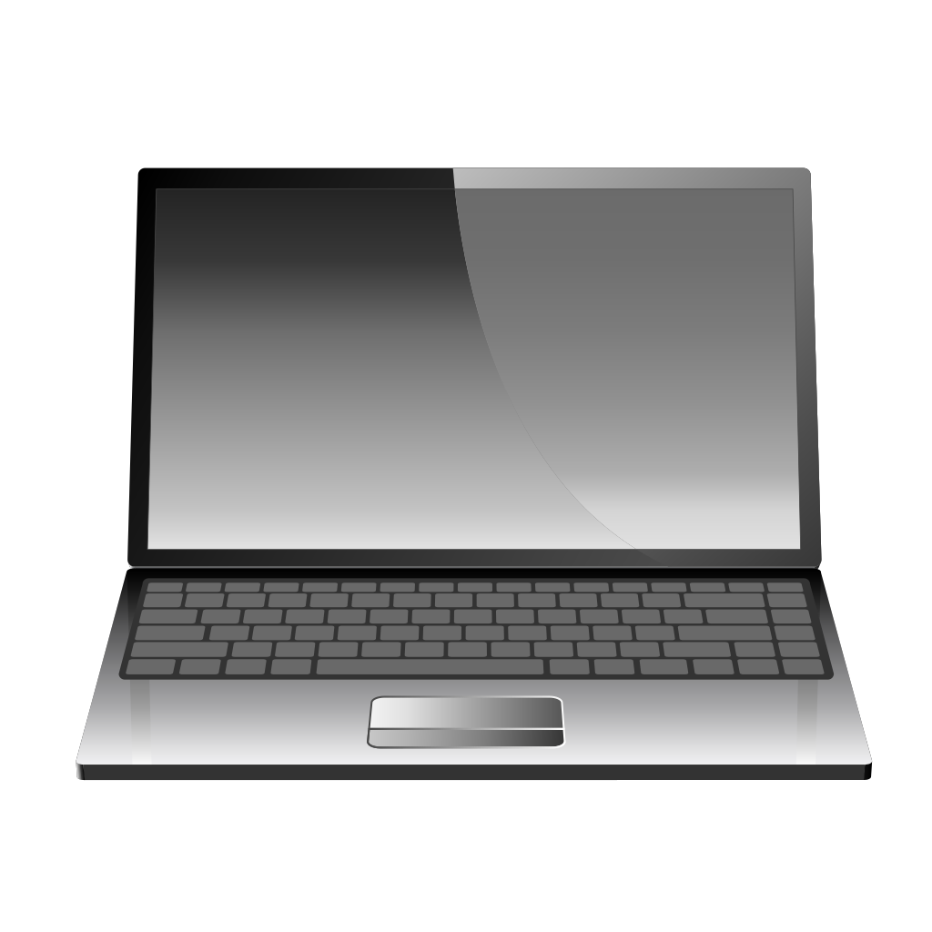 Computer Laptop Or Notebook SVG Clip arts
