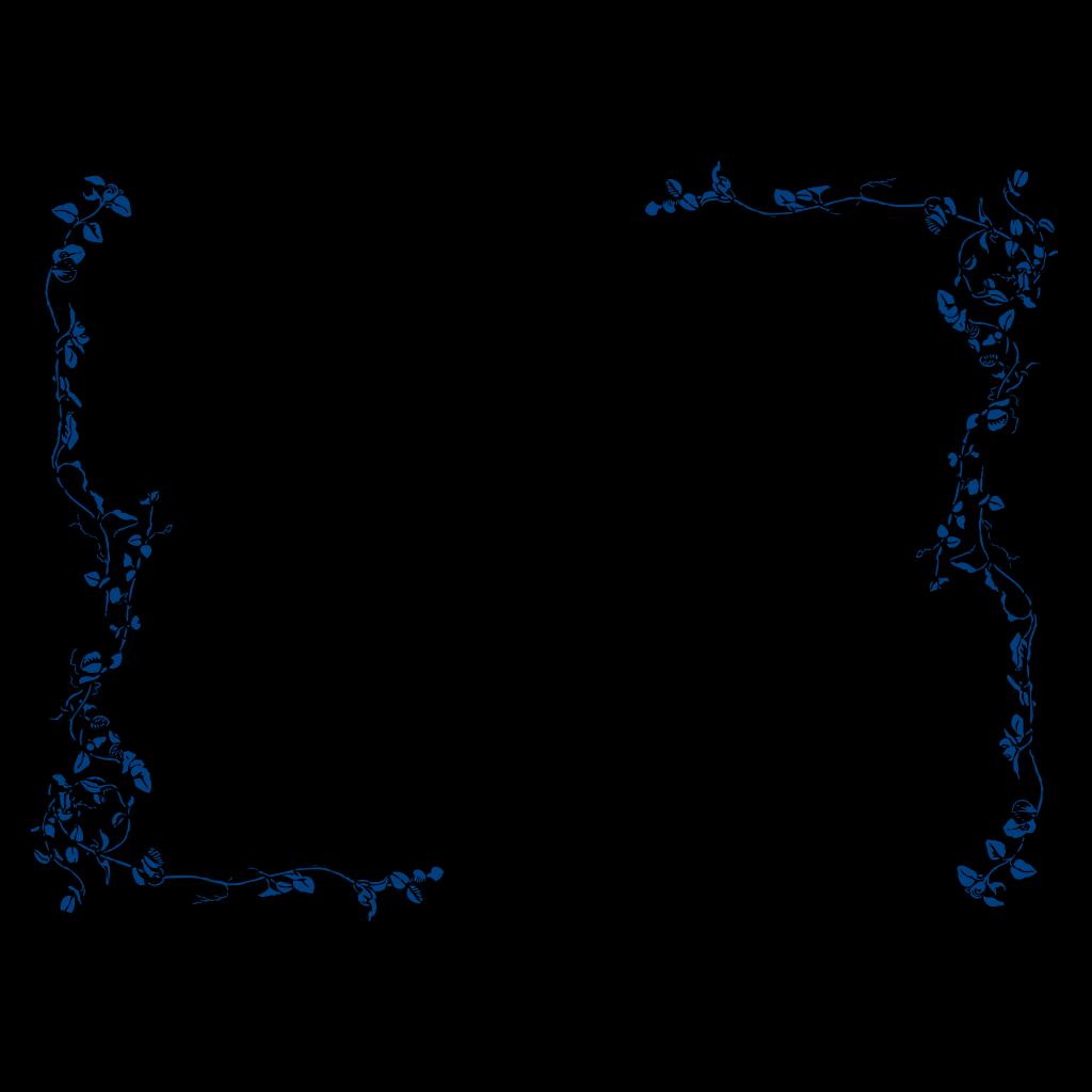 Blue Border 4 SVG Clip arts