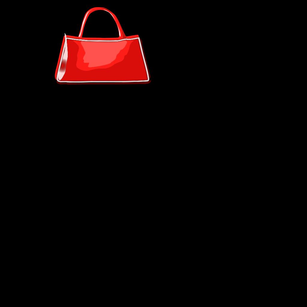 Handbag SVG Clip arts