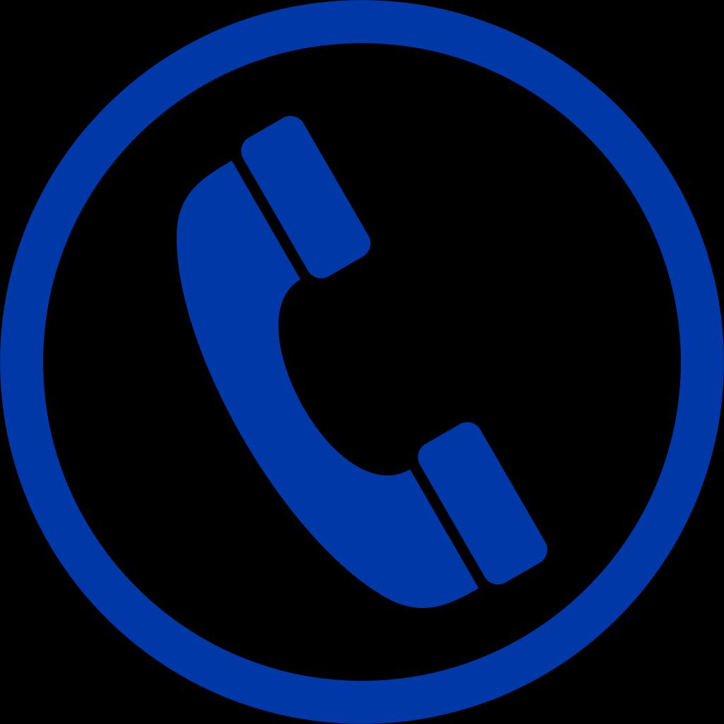 Blue Phone Sh SVG Clip arts