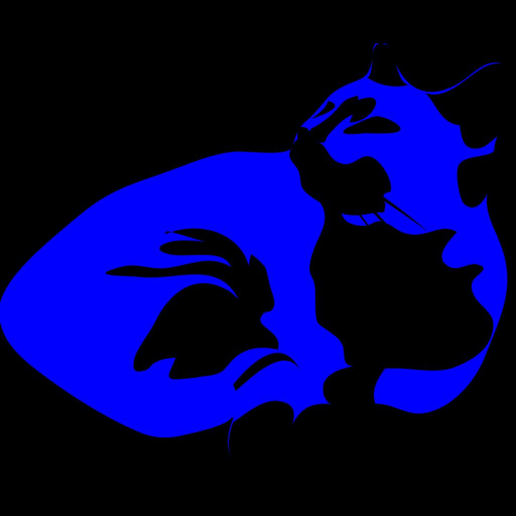 Cool Cat Blues SVG Clip arts