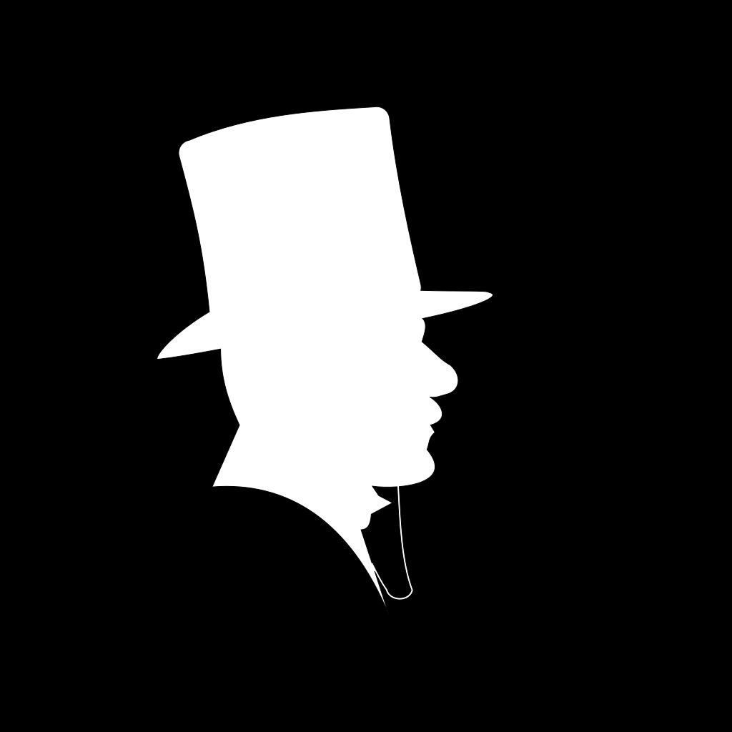 Pimp Hat SVG Clip arts