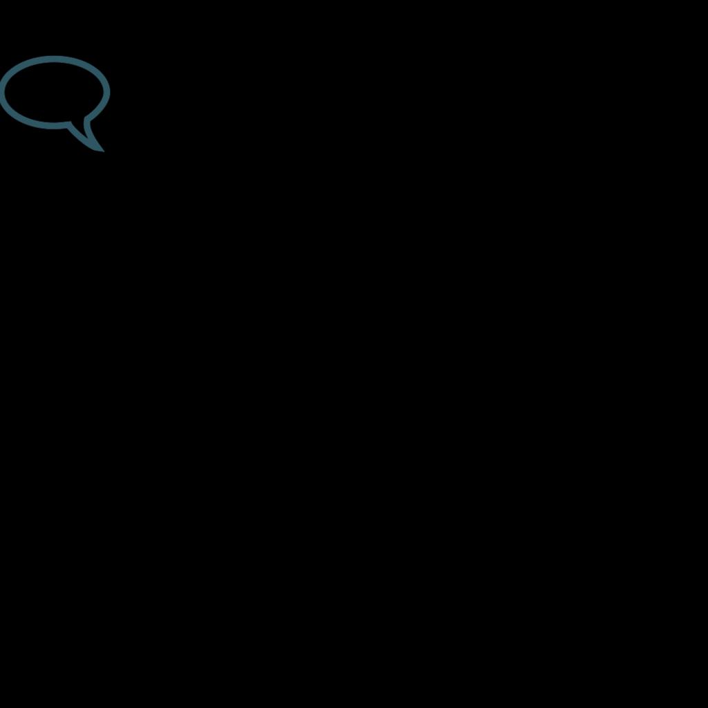 Chat Outline SVG Clip arts