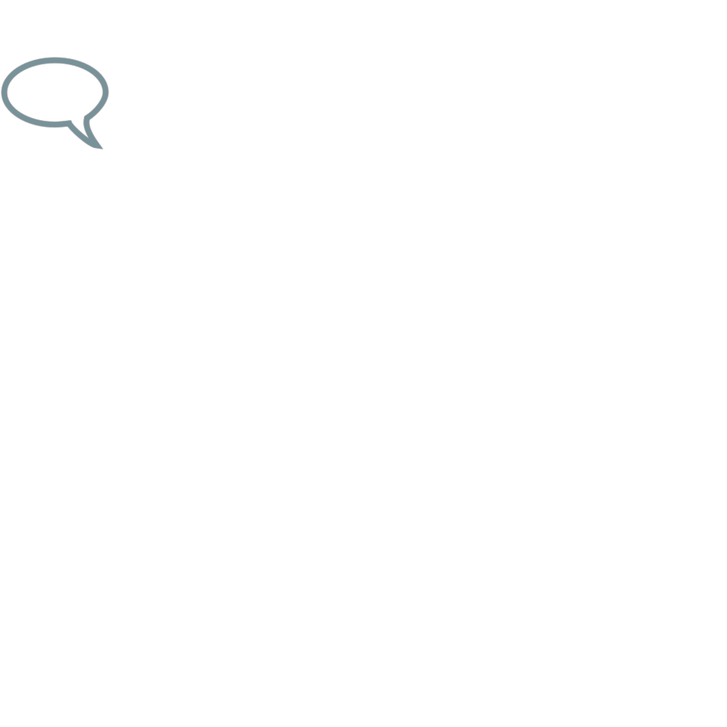 Chat Bub Blue SVG Clip arts