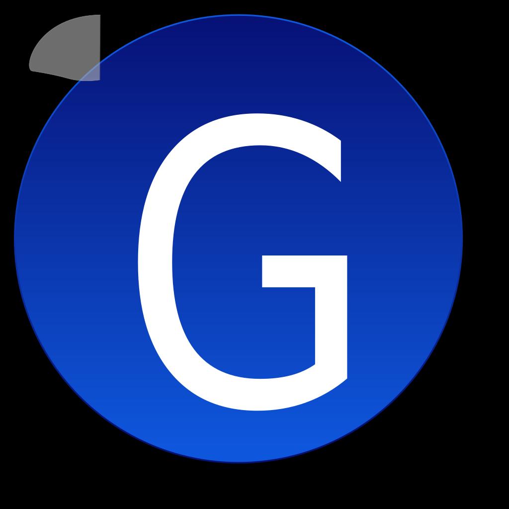 Char G SVG Clip arts
