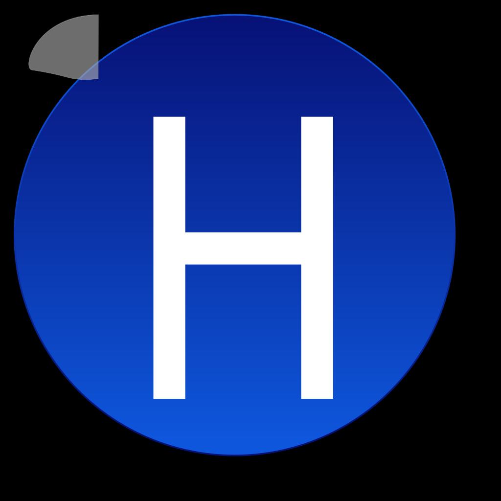 Char H SVG Clip arts