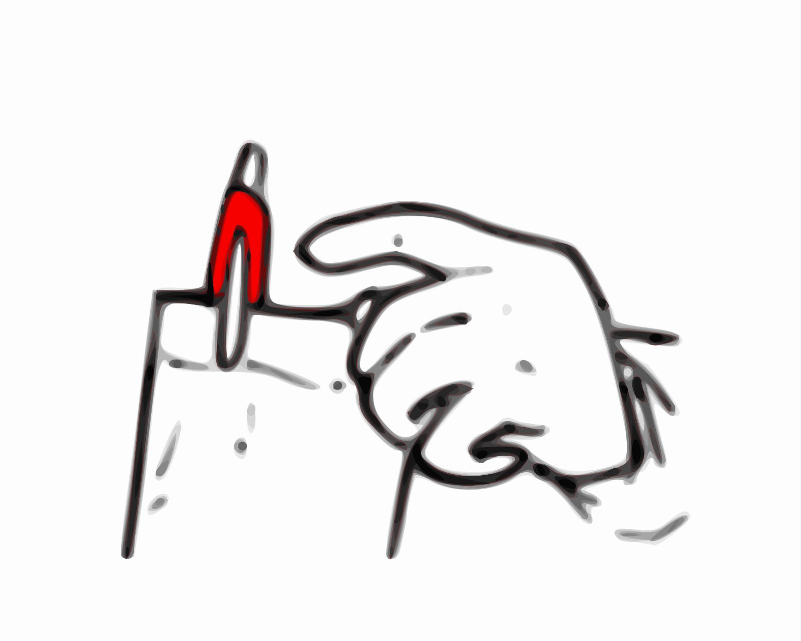 Blue Pen SVG Clip arts