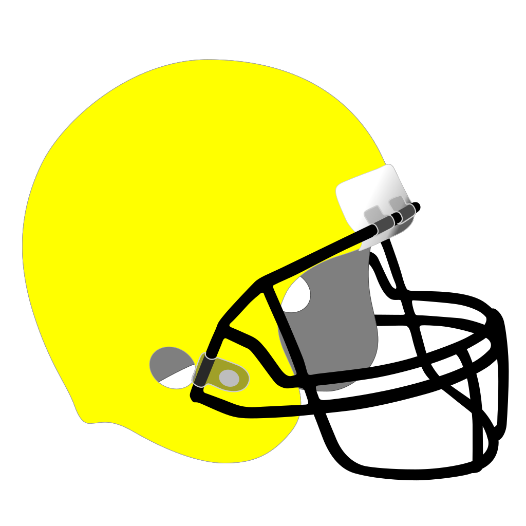 Football Helmet SVG Clip arts