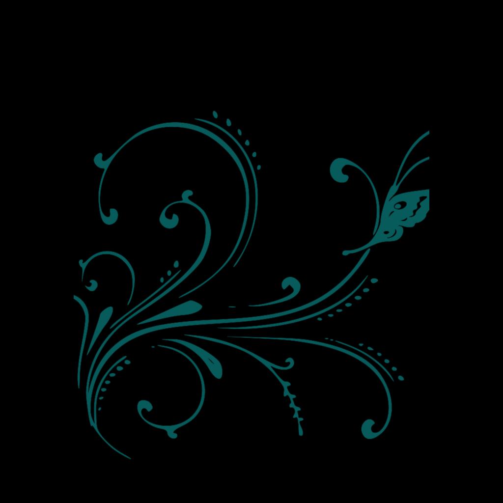 Transparent Blue Scroll SVG Clip arts