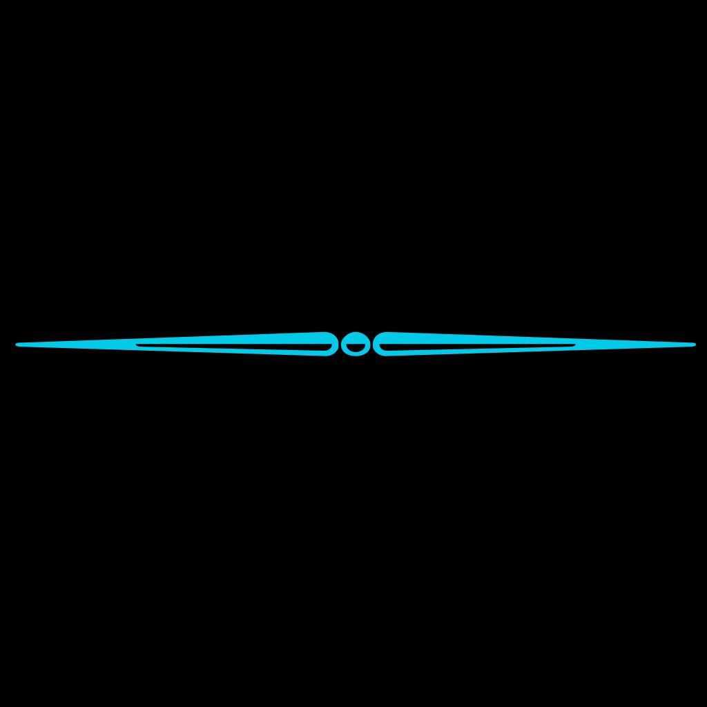 Blue Divider SVG Clip arts