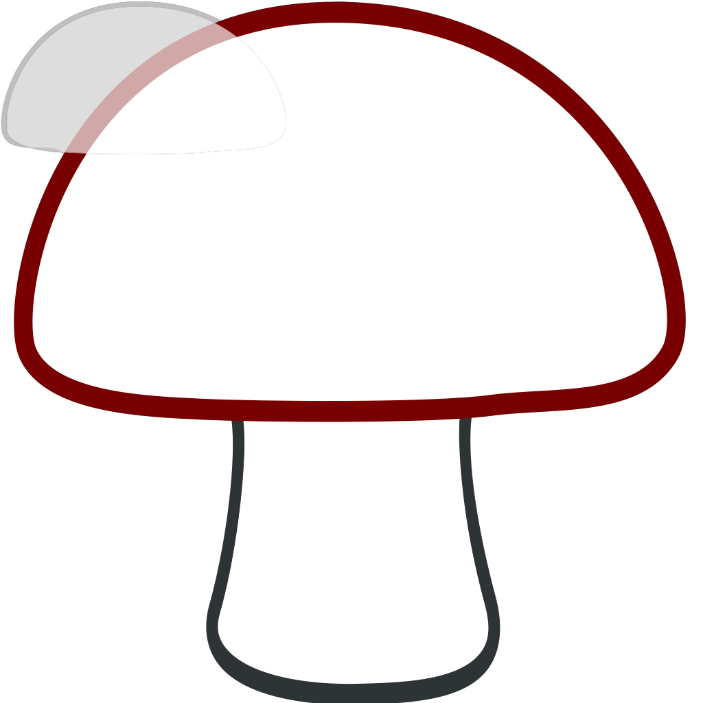 Mushroom Home SVG Clip arts