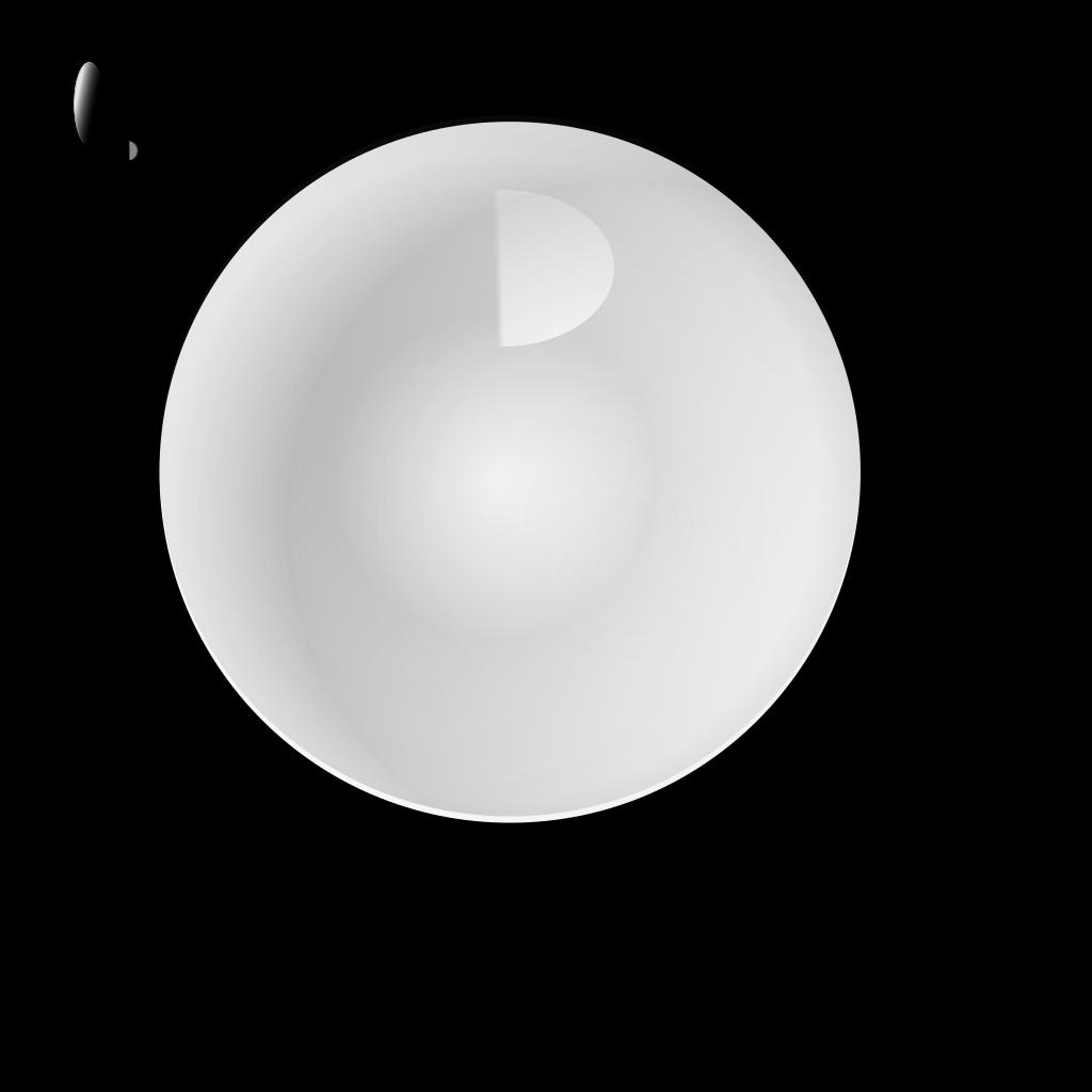 Glass Blue Ball SVG Clip arts