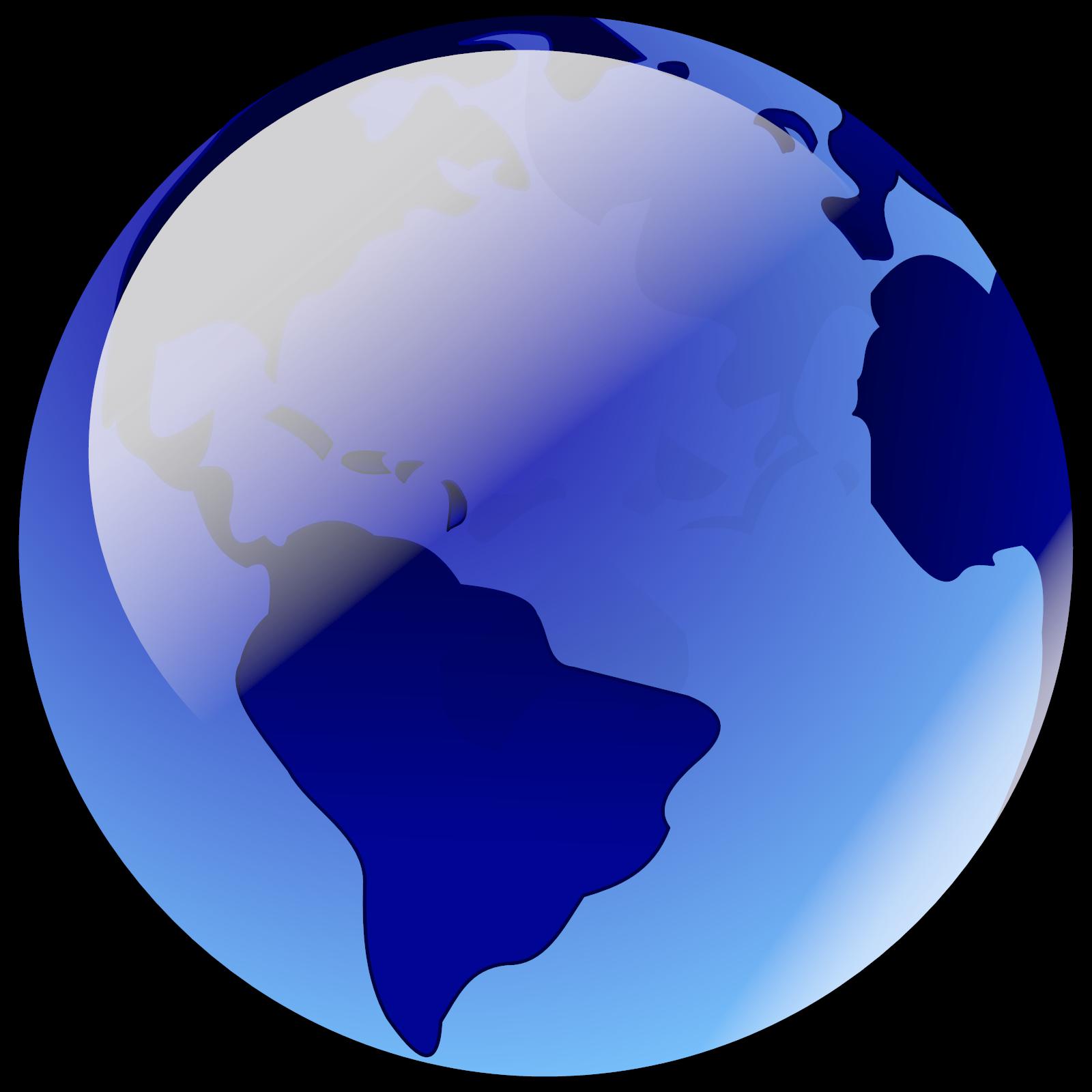 Blue Earth SVG Clip arts