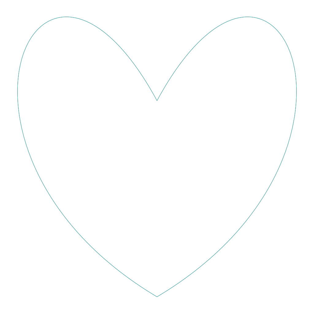 Blue Heart SVG Clip arts