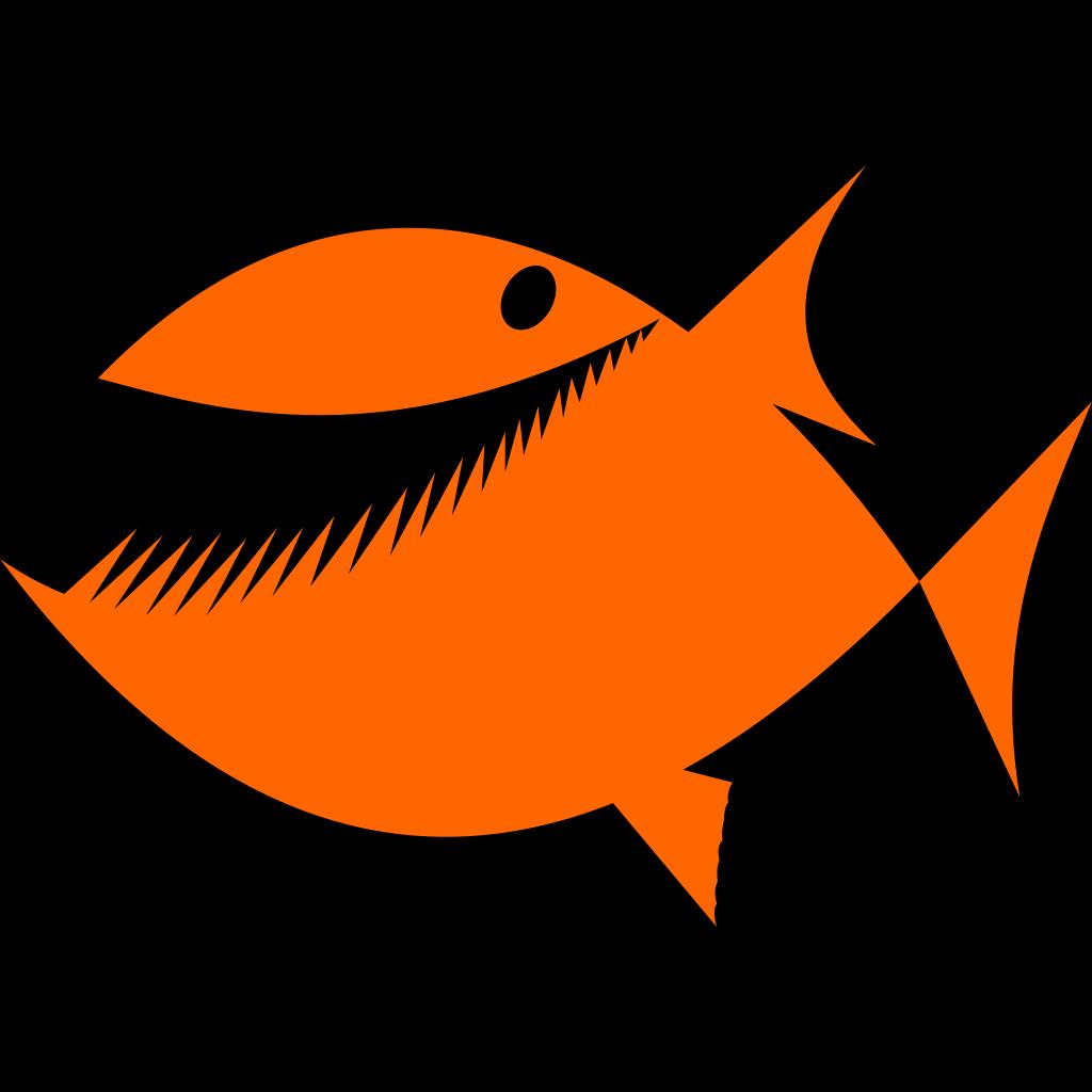 Cartoon Fish Silhouette Svg Clip Arts Download Download Clip Art