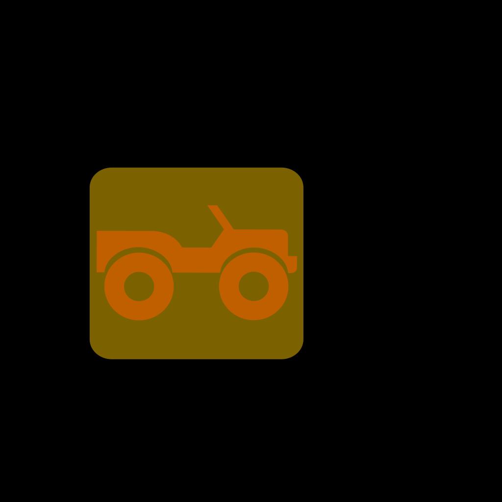 Blue Jeep SVG Clip arts