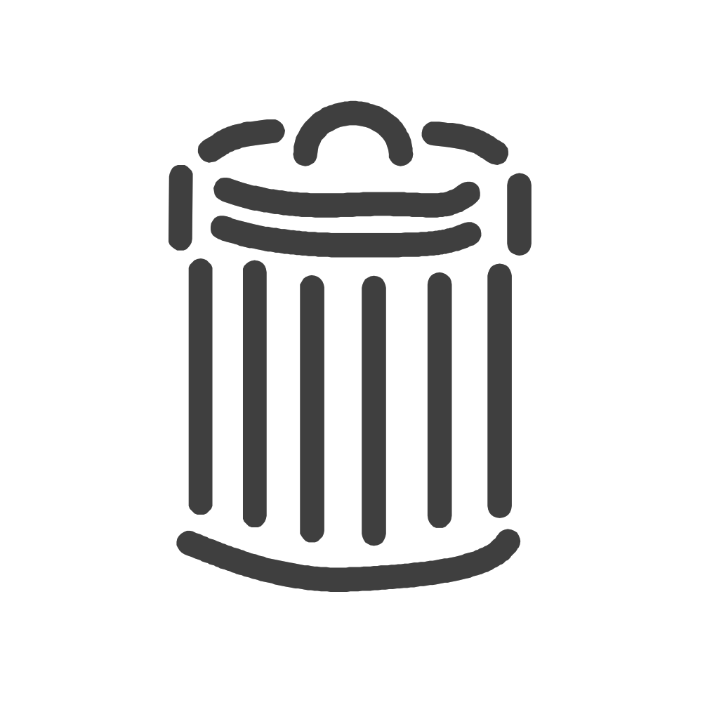 Trash Can SVG Clip arts