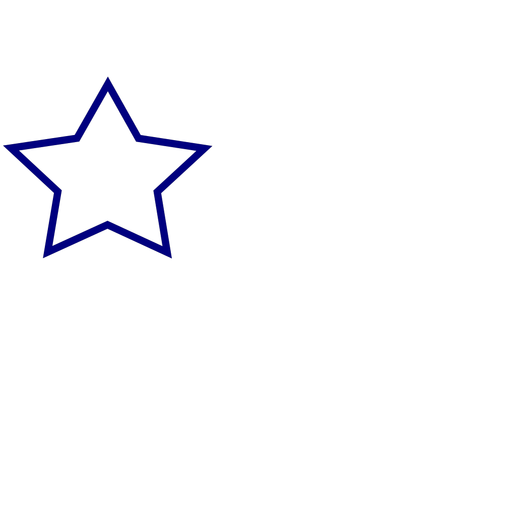 Blue Star With 3 Gold Star And Wings SVG Clip arts